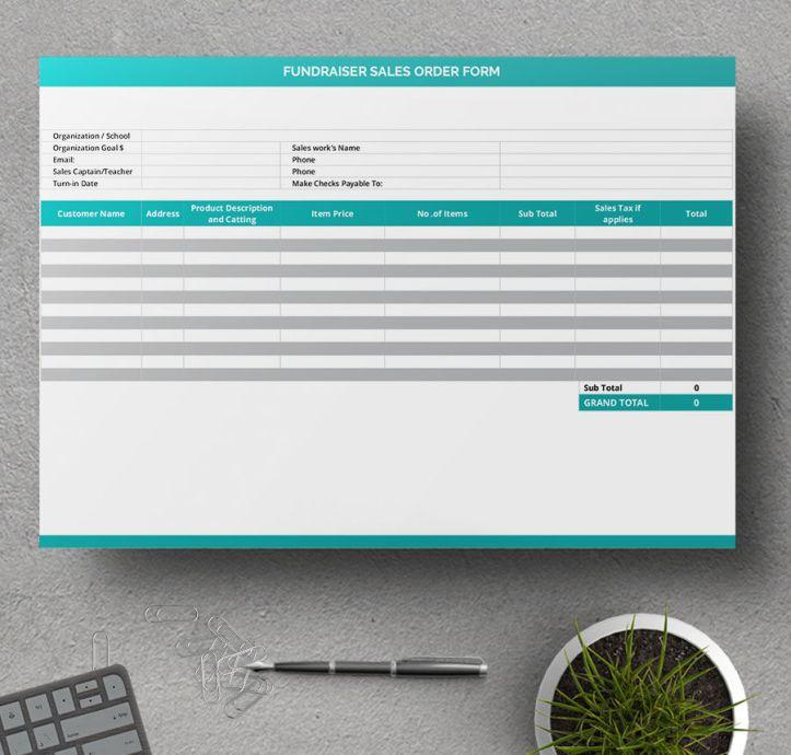 7 formularios de pedido gratis – Plantillas Gratis