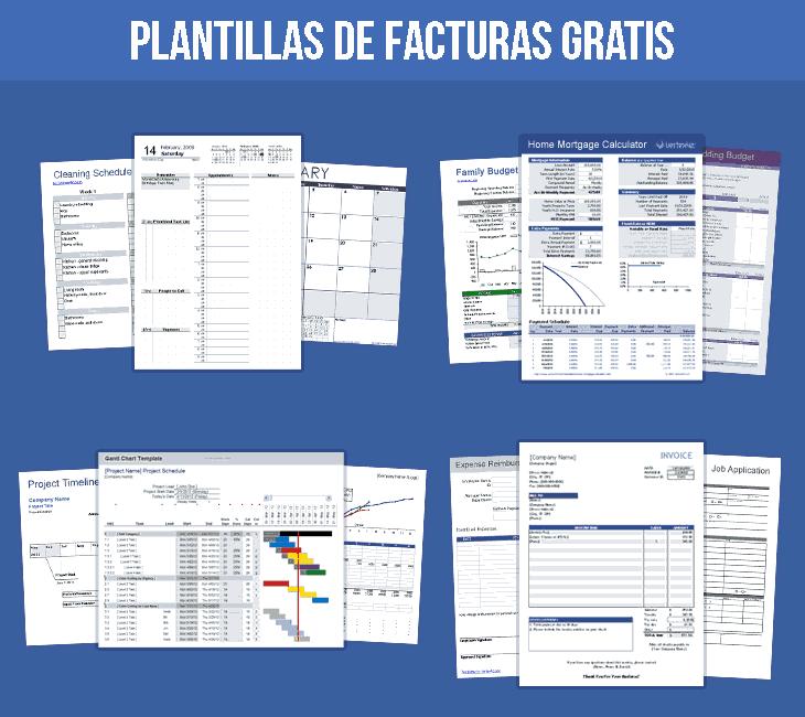 plantillas facturas gratis word – Plantillas Gratis