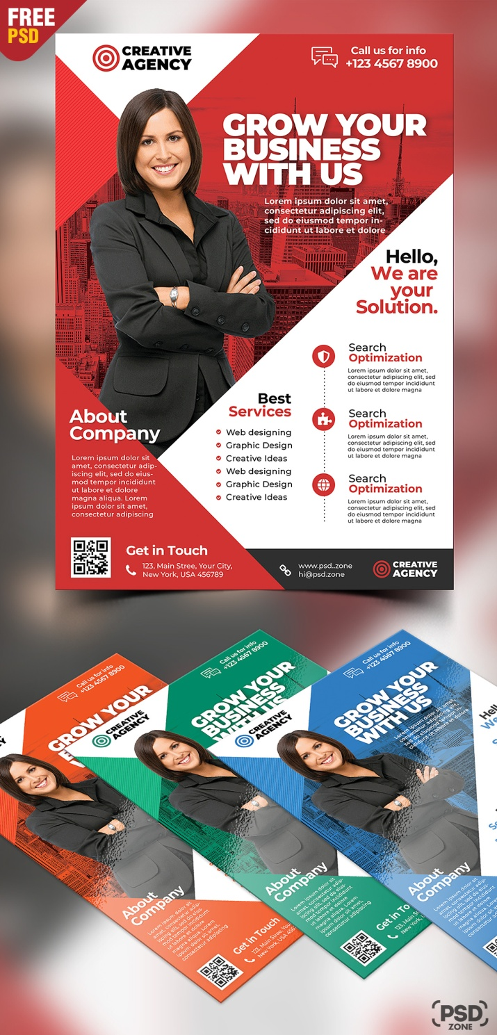 Corporate-Business-Flyer-Free-PSD-Set-Preview