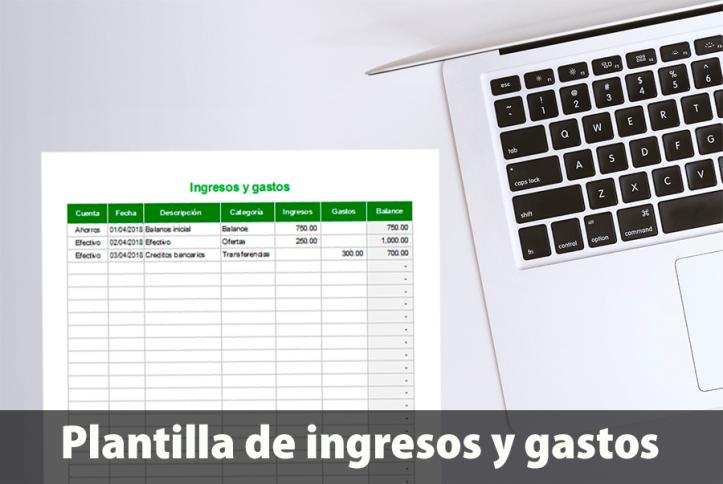 Plantilla de seguimiento de ingresos y gastos en Excel – Plantillas ...
