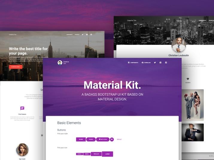 material-boostrap-kit
